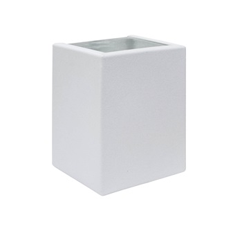 Arendela Aço com 2 Fachos e Lente de Vidro Branco Fosco - Ref.159010-11- BLUMENAU