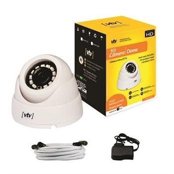Kit Câmera de Segurança Dome L12 720P IP65 - Ref.7898641420010 - VTV