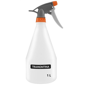 Pulverizador De Plastico 1,0 Litros Manual Branco - Ref.78605/106 - Tramontina