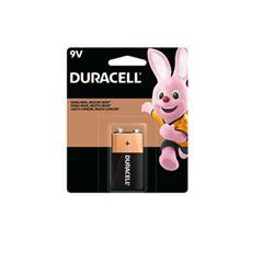 Baterias 9V Alcalinas Ref.300181 - Duracell