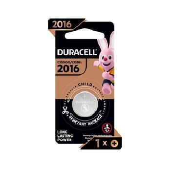 Bateria 3V Moeda Litio Cr2016 Metalica - Ref.303704 - Duracell