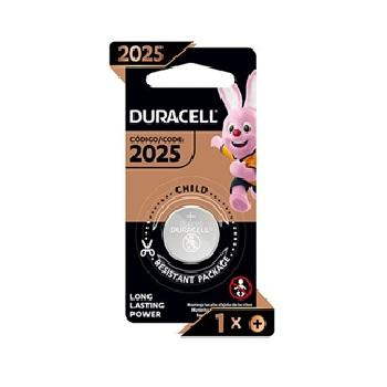 Bateria 3V Moeda Litio Cr2025 - Ref.306298 - Duracell