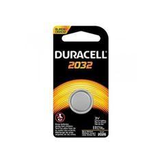 Bateria 3V Moeda Litio Cr2032 Cart Metalica - Ref.306660 - Duracell