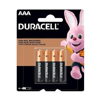 Pilha Aaa Ct 4Unidade Alcalina - Ref.300178 - Duracell