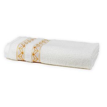 Toalha de Banho em Algodão Prata Lalique Branco - Ref.SANPRJBABLAL0001- SANTISTA