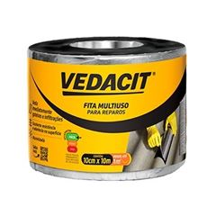 Fita Adesiva 10cmx10m Multiuso - Ref.121821 - VEDACIT