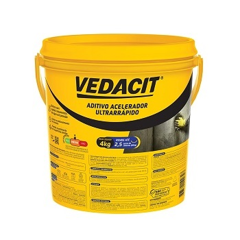 Impermeabilizante Aditivo Acelerador Ultrarrápido 4kg - Ref.147855 ¿ VEDACIT