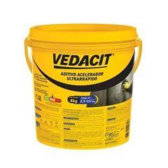 Impermeabilizante Aditivo Acelerador Ultrarrápido 4kg - Ref.147855 - VEDACIT