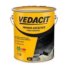 PrimerAsfaltico para Manta 18 Litros Preto - Ref.112427 - VEDACIT