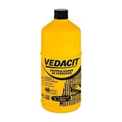 Neutralizador de Ferrugem 1 Litro - Ref.121795 - VEDACIT