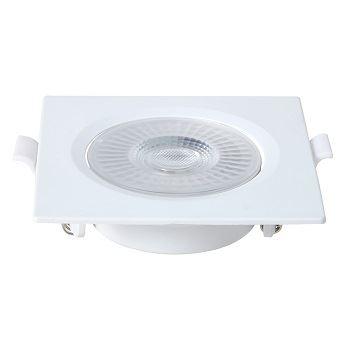 Spot Led em Abs de Embutir Quadrado 3w Bivolt 6500k Branco - Ref.80226004 - BLUMENAU