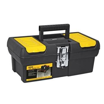 Caixa de Ferramenta Plástica 18x32cm Preta e Amarela - Ref.13.013 - STANLEY
