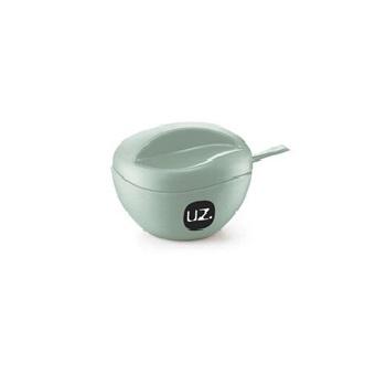 Açucareiro de Plástico Sólido Verde Menta - Ref.UZ141-VEM - UZ