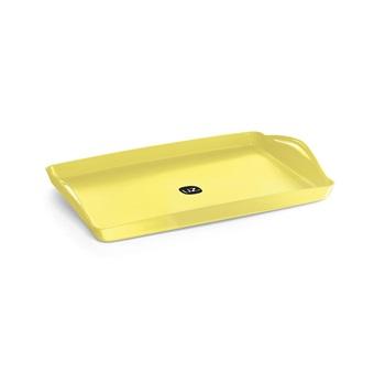 Bandeja de Plástico Sólido Plus Amarelo Claro - Ref.UZ164-AMC - UZ