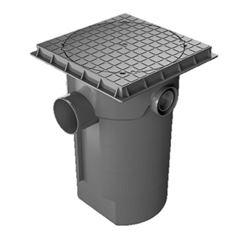 Caixa de Gordura PVC com Cesto e Tampa 300x525x100mm - 1481 - KRONA