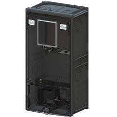 Caixa para Medidor de Energia Trifásico Padrão PE/BA/RN CMD3 Cinza- Ref.7120006 - TAF