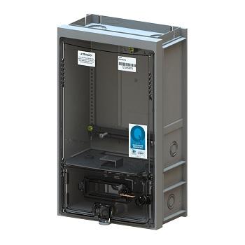 Caixa para Medidor de Energia Monofásico Padrão AL/PI/MA/PA CMD1 M7 Cinza- Ref.8319 - TAF