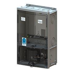 Caixa para Medidor de Energia Trifásico Padrão AL/PI/MA/PA CMD3 P7 Cinza- Ref.8292 - TAF