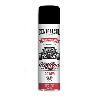Aromatizante Spray Hot Rod 400ml Power - Ref.015639-6 - CENTRAL SUL