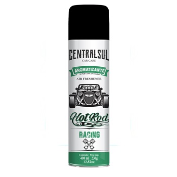 Aromatizante Spray Hot Rod 400ml Racing - Ref.015640-0 - CENTRAL SUL