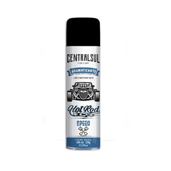 Aromatizante Spray Hot Rod 400ml Speed - Ref.015638-8 - CENTRAL SUL
