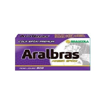 Masas Epóxi 80G Aralbras - Ref.3010055 - BRASCOLA