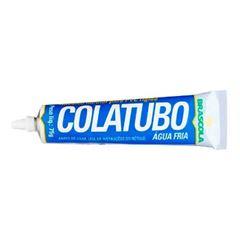 Adesivo PVC 75g Cola Tubo - Ref. 3130010 - BRASCOLA