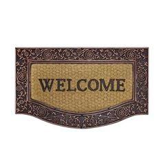 Capacho de Fibra de Coco 45x75cm Welcome - Ref.151202 - KAPAZI