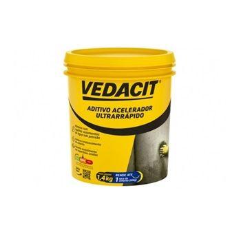 Aditivo 1,4kg Acelerador Ultrarrápido Branco - Ref.147856 - VEDACIT