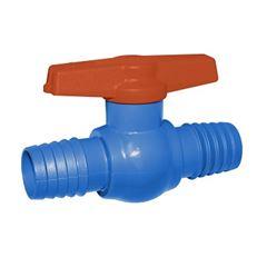 Registro de Esfera para Irrigação PVC 3/4 com União Externa Dentada - Ref. 2011101 - VIQUA