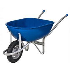 Carro de Mão em Metal Master Completo Azul - Ref. 00162 - METALOSA