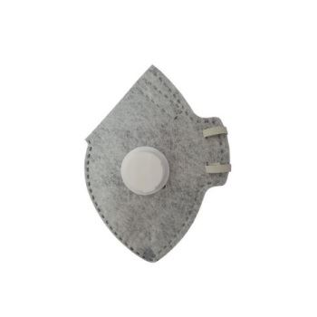 Respirador Dobrável CG-531V PFF2 Cinza - Ref. 010673410 - CARBOGRAFITE