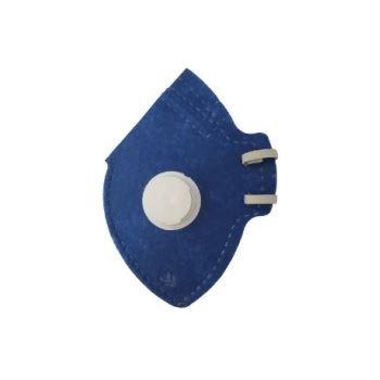 Respirador Dobrável CG-511V PFF1 Azul - Ref. 010673010 - CARBOGRAFITE