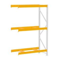 Mini Porta Pallet 500kg Continuação 2x1,8x0,6m Cinza e Laranja - Ref. PK050022-2297 - AMAPÁ