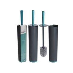 Escova Sanitária com Suporte em Polipropileno 42cm Cinza - Ref. 314419080 - BATHROOM SOLUTIONS