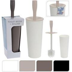 Escova Sanitária com Suporte ABS 36,5cm Cores - Ref. 736100260 - BATHROOM SOLUTIONS