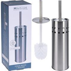 Escova Sanitária com Suporte em Inox 39cm - Ref. C80800010 - BATHROOM SOLUTIONS