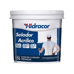 Selador Acrílico 15 Litros - Ref. 616300061 - HIDRACOR