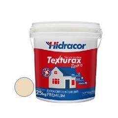 Textura Acrílica 25kg Texturax Rústica Marfim - Ref. 06093800005 - HIDRACOR