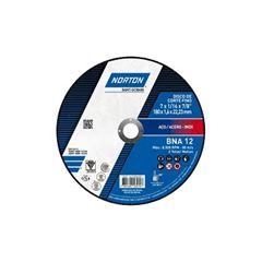 Disco de Corte de Inox 7 Polegadas BNA 12 Azul - Ref.66252846559 - NORTON