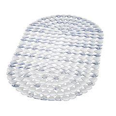 Tapete de Plástico para Banho 67x38cm Transparente - Ref. PR2608-2 - PRIMAFER