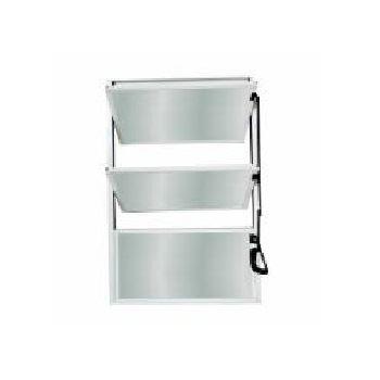 Basculante em Alumínio 40Lx60A Soft Mini Boreal Branco - Ref. 3142 - MGM