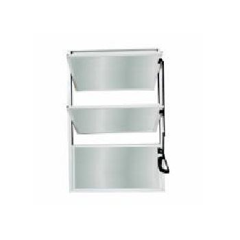 Basculante em Alumínio 80Lx60A Soft Mini Boreal Branco - Ref. 3148 - MGM