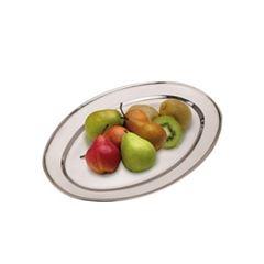Bandeja de Inox 45x29cm Oval - Ref.A12150020 - EXCELLENT HOUSEWARE