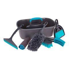 Kit de Limpeza com 7 Peças Preto - Ref. 314419230 - ULTRA CLEAN