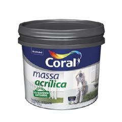 Massa Acrílica Balde 25kg - Ref. 5565294 - CORAL