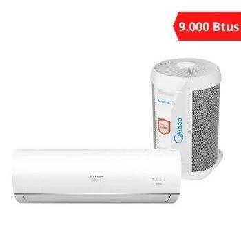 Ar Condicionado Split Inverter Condensadora + Evaporadora 9.000 BTUS - Ref. 38TCA09S5/42MACT09S5 - SPRINGER MIDEA
