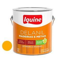 Tinta Esmalte Brilhante Delanil Amarelo 3,6 Litros - Ref.195206501 - IQUINE