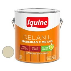 Tinta Esmalte Brilhante Delanil Areia 3,6 Litros - Ref.195201501 - IQUINE