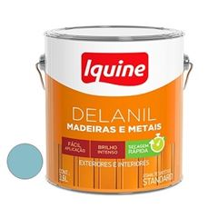 Tinta Esmalte Brilhante Delanil Azul Celeste 3,6 Litros - Ref.195204701 - IQUINE